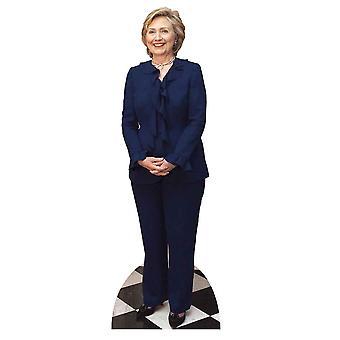 Hillary Clinton Lifesize papelão recorte / cartaz / stand-up