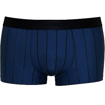 Hanro Shadow Stripe Boxer Trunk, Blue