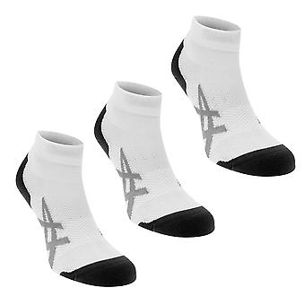 Asics Herre to Pack polstret sokker kvartal åndbart Mesh svedtransporterende