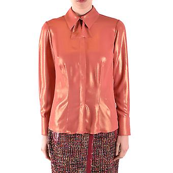 Elisabetta Franchi Ezbc050159 Women's Orange Polyester Shirt