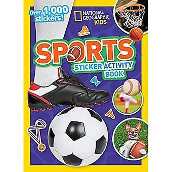 Sport klister märke aktivitets bok: över 1 000 klister märken!