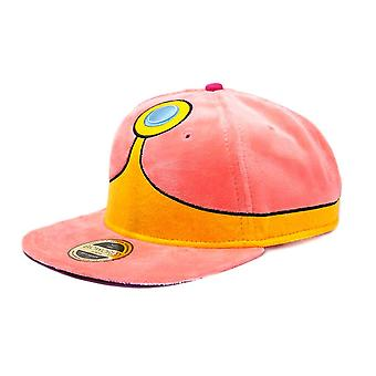 Adventure Time Princess Bubblegum Plush Snapback Cap