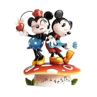 Disney Showcase Miss Mindy Mickey Mouse and Minnie Mouse Figurine