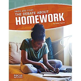 Debate about Homework by Anika Fajardo - 9781635175936 Book