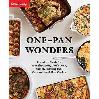 One-Pan Wonders by Cook's Country - 9781940352848 Book