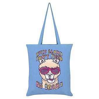 Grindstore This Llama Don`t Need No Drama Tote Bag