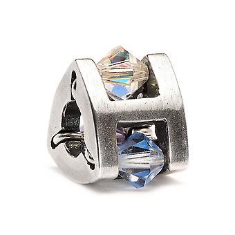 Trollbeads piccolo estate gioiello argento & Swarovski Crystal Bead TAGBE-00102