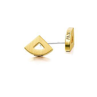Kaytie Wu Gold Plated Fan Earrings 28059
