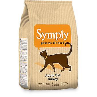 Alimento seco de gato Symply Turquía - 1,5 kg