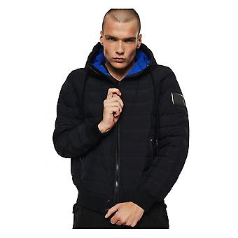 Diesel W-oblosky Puffer Giacca Nero