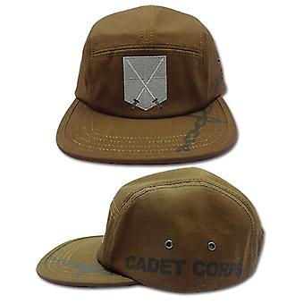 Baseball Cap - Attack on Titan - New 104th Cadet Corp Brown Hat ge32484