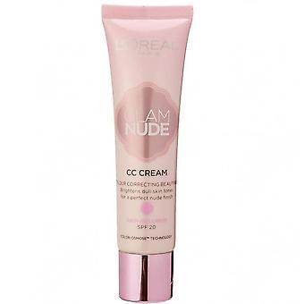 L'Oreal glam Nude CC creme-anti-Dullness