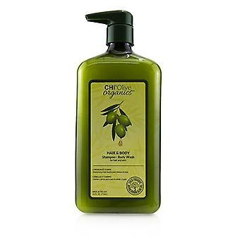 Chi Olive Organics Haar & Körper Shampoo Body Wash (für Haar und Haut) - 710ml/24oz