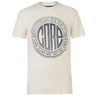 Jack and Jones Men Core Pressure T Shirt Crew Neck T-Shirt Tee Top
