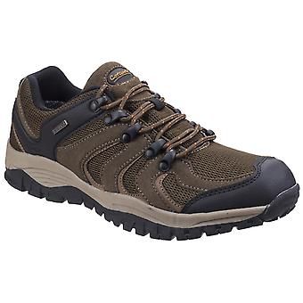 Cotswold Mens Stowell Low Hiking Shoe Brown