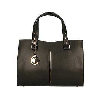 Läder handväska tillverkad i Italien P9134