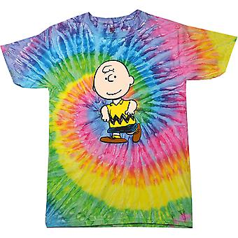 Peanuts Charlie Brown Women's Tie Dye T-Shirt