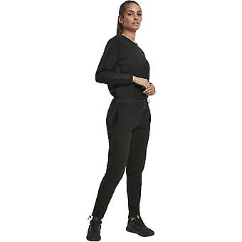 Urban Classics Ladies - POLAR Fleece Jumpsuit nero