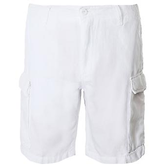 Hartford Linen Blend Bask Cargo Shorts