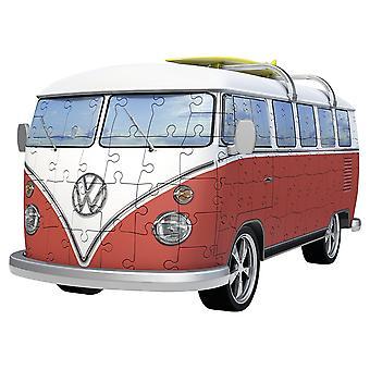 Ravensburger VW T1 Camper Van - 163pc 3D Jigsaw Puzzle