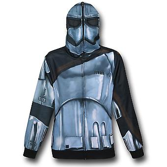 Star Wars Force Réveille captain Phasma Costume Hoodie
