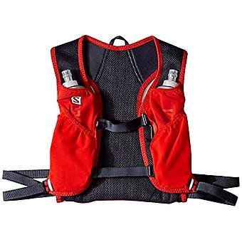 Salomon L40154500 - Leichter Laufrucksack 3 l Agile 2 Adult Unisex Set - rot/grau