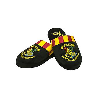 Mens Harry Potter Hogwarts Mule Slippers Official Licensed Merchandise