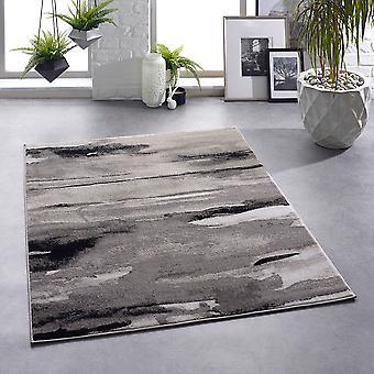 Artistic Grey Rectangle Rugs Plaine /Presque Plaine Rugs