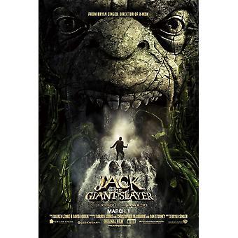 Jack the Giant Slayer Poster Doppio Sided Advance (2013) Poster originale del cinema