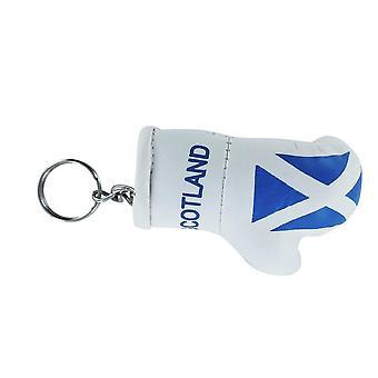 كلي كلس كي سلاس الاسكتلندي العلم اسكتلندا قفاز الملاكمة العلم سلسلة المفاتيح