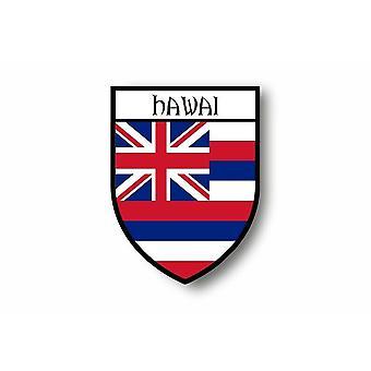 Sticker Sticker Sticker Motorcycle Car Blason City Flag USA Hawaii