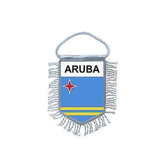 Flag Mini Flag Country Car Decoration Aruba