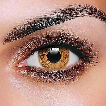 Hazel One Tone Contact Lenses (Pair)