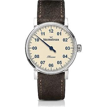 MeisterSinger Montres Women's Watch One-Hand Watch Phanero PH303-SV12XS
