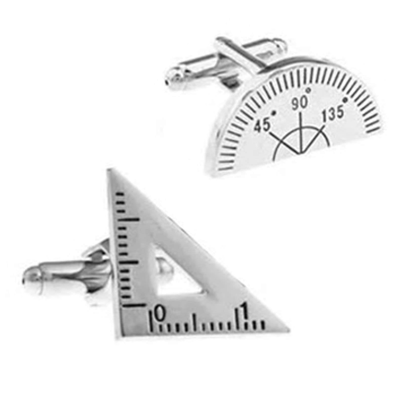 Handy man dad drawing theme stainless steel cufflinks