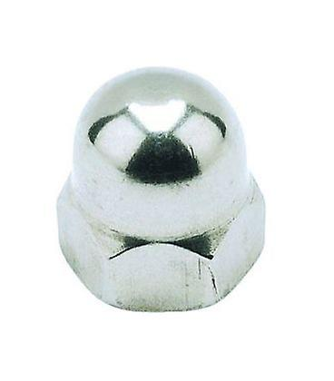 M12 Hexagon Dome Nut - A4 Stainless Steel Din1587