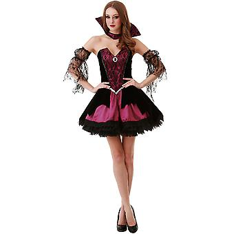 Voluptuous Vampire Adult Costume, S