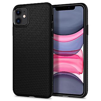 Case For IPhone 11 Liquid Air Black Mat