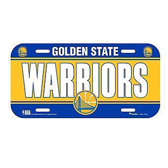 Fanatics NBA license plate - Golden State Warriors