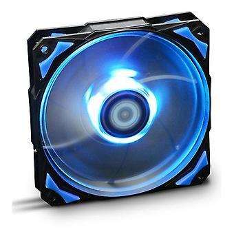 Boks ventilator NOX NXHUMMERF120LB HFAN 12 cm LED blå