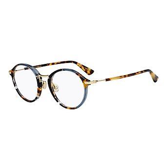 Dior Dioressence6 JBW Blaue Havanna Brille