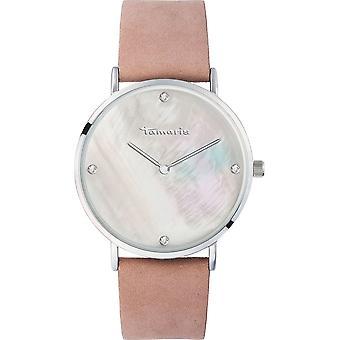 Tamaris - Wristwatch - Anika - DAU 40mm - Silver - Ladies - TW008 - Pink Silver
