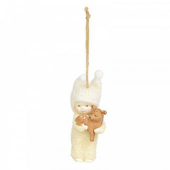 Snowbabies Peaceful Kingdom Deer Hanging Ornament