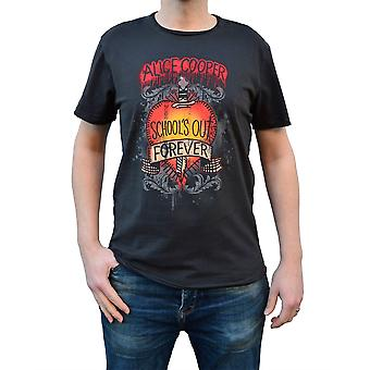 Amplified Alice Cooper Schools Out Crew Neck T-Shirt