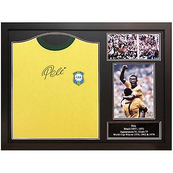 Brasil Pele podpisane koszula (ramie)