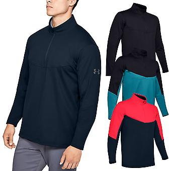 Under Armour Mens 2020 Crestable Midlayer Moisture Wicking 1/2 Zip Sweater