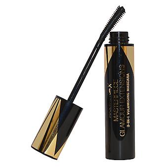 Glamour Extensions by Max Factor 3 in 1 Volumising Mascara 12ml Black