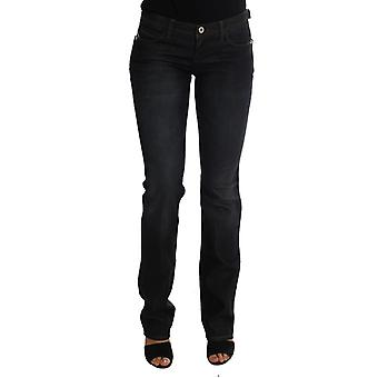 Costume National Dark Blue Cotton Slim Fit Jeans