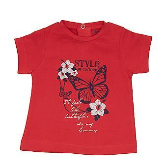 Babyglobe Flickor Tshirt Naturstil