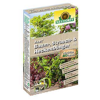 NEUDORFF Azet® tree, shrub and hedge fertiliser, 1 kg